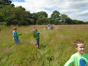 5th July 2016 Welly Walk to the Meadow (1)